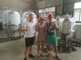Alle industrielle Microbrewing Brauerei-Pflanze des Korn Crat Bier-Geräten-1000L mit Edelstahl-Maischapparat und Gärungserreger