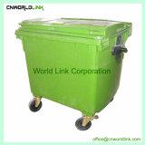 Structure Solide de couleur différente des déchets de plastique Bac de 660 L