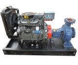 80HP de CentrifugaaldiePomp van het Water van de dieselmotor voor Irrigatie wordt geplaatst