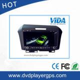 ホンダCRV Bt USB+Camのダッシュの倍2DINのカーラジオのDVDプレイヤーのGPS Navi 7in