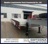 40FT 반 3개의 차축 화물 실용적인 콘테이너 측벽 트럭 트레일러