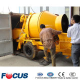 Piccola betoniera mobile elettrica 30m3/H con la pompa