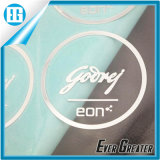 Electroform su ordinazione Chrome Metal Label Sticker con Adhesive