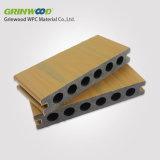 Decking composé Chine composée en plastique en bois de l'assurance qualité WPC