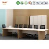 Tabela de madeira da sala de reuniões da mobília de escritório