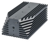 L'industrie Profil d'Extrusion d'aluminium 6063 T5 L'extrusion de pièces en aluminium