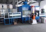 Производственная линия лакировочной машины стеклянной краски порошка чашки распыляя