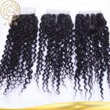 Aaaaaaaの卸売100%の加工されていない毛のバージンのヨーロッパ人100%の人間の毛髪