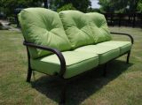 groupe conversationnel de causerie de meubles de jardin de montage de 6 personnes 4PCS