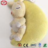 Baby Sleep Buddy Rabbit Cute Music Plush Toy com Puller
