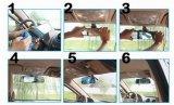 Car Cam HD Dual Lens Car DVR 5.0 polegadas Destaque RGB Grande tela de tela Carcorder