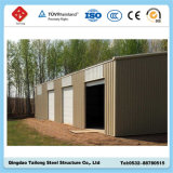 Qingdao에 있는 Prefabricated 강철 구조물 창고