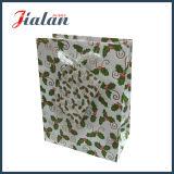 Дешевое цена подгоняет напечатанный логосом Handmade мешок конфетной бумаги Chrsitmas