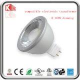 ETL 7W 650lm kompatibel mit elektronischem Punkt-Licht des Transformator-12V AC/DC MR16 LED