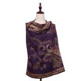 Теплый полиэфир 100% шарфа Pashmina для повелительницы