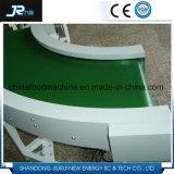 Transportador de correa motorizado Turnning de PVC del tambor de 180 grados para la cadena de producción