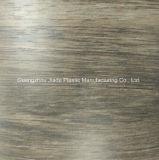 Du grain du bois feuille décoratifs en PVC