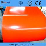 O preço de fábrica Prepainted a bobina de aço revestida galvanizada da bobina a cor de aço