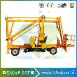Alzamiento del recogedor de la cereza de Manlift de la garantía de la alta calidad 2year de la marca de fábrica de Sinofirt