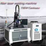 Continua 750W soldadora láser de fibra