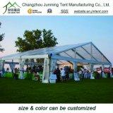 アルミニウムフレームが付いている大きい屋外のイベントの玄関ひさしの結婚披露宴のテント
