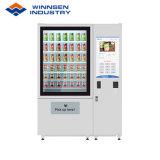 Smart здорового салат Jar торговые автоматы Шкафчик с системой элеватора