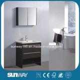 Neuer europäischer Fußboden-stehende Badezimmer-Eitelkeit SW-ML1608b des Entwurfs-2018