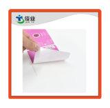 Синтетические бумаги нажимает Серебристая наклейка
