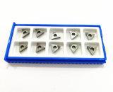 CBN PCD van de Hulpmiddelen Tcgw1102 van het Carbide van het wolfram de Scherpe Tussenvoegsels van de Diamant