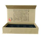 Diseño de lujo cartón Caja de regalo con forro de espuma