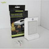 PIR Motion Sensorの庭のためのOne LED Solar Lightsの壁に取り付けられたOutdoor All