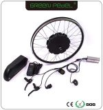 緑のPedel 36V 48V 500Wの750Wによってモーターを備えられるGearlessハブモーターEバイクの変換キット