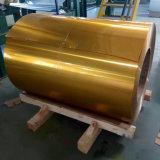 Strato di alluminio della bobina ricoperto colore con la superficie a resina epossidica della pittura del PE PVDF