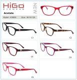 Higo Eyewear A18835 Retro Unisex-Oogglazen van het Metaal van de Acetaat Clubmaster 50 mm