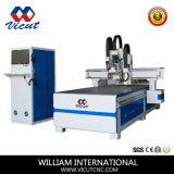 Oszillierender Messer CNC-Ausschnitt-Maschinen-ATC CNC-Flachbett-Scherblock