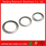 La norme DIN9250 côtelée rondelle de sécurité en acier inoxydable