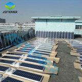 100W/120W de alta potencia de la fábrica de productos solares LED recargable todo-en-uno integrado/jardín de la calle de iluminación de aluminio