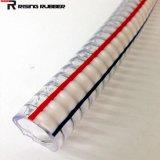 O fio de aço de PVC de borracha reforçada