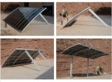 Cayoeの普及したアルミニウムCarport PVCデザイン日除けの造りの金属はカスタマイズした