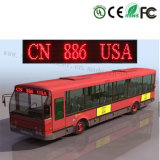 Segno programmabile esterno del messaggio LED del bus P10-16X128 per la finestra posteriore della parte anteriore del bus