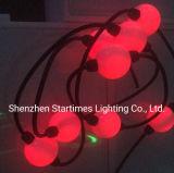 ピクセル5年の保証アドレス指定可能なMadrixクリスマスの照明360度は3Dの球の段階装置LEDの点ライトクリスマスの装飾のLED照明をつける