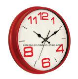 Cuatro de moda reloj de pared de promoción de color con la venta caliente