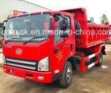 Pequeño mini cargo de poca potencia de Sinotruk FAW que inclina el carro de vaciado del volquete del camión de descargador