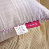 低刺激性のデラックスな紫色の綿の習慣の枕