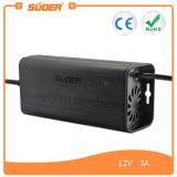Заряжатель свинцовокислотной батареи Suoer 12V 3A трехфазный всеобщий (SON-1203B)