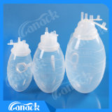 Les produits médicaux fournisseur professionnel de fermer le système de drainage de la plaie en silicone