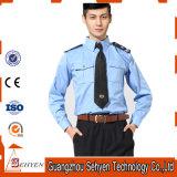 Mistura de uniforme de guarda de algodão e poliéster