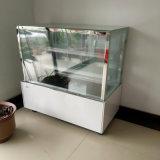 Белые полки цвета 2 мраморизуют материальный шкаф холода хлебопекарни