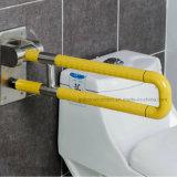 Toilette Cuisinière en acier inoxydable et Nylon Handicapé-Folding Grab Bars