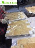 Telha do teste padrão do mosaico do Onyx do mel do metro para a decoração da parede